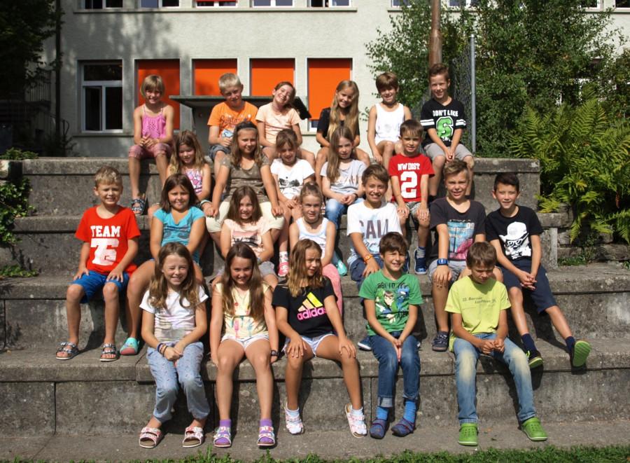 3./4. Klasse im Schuljahr 2017/2018